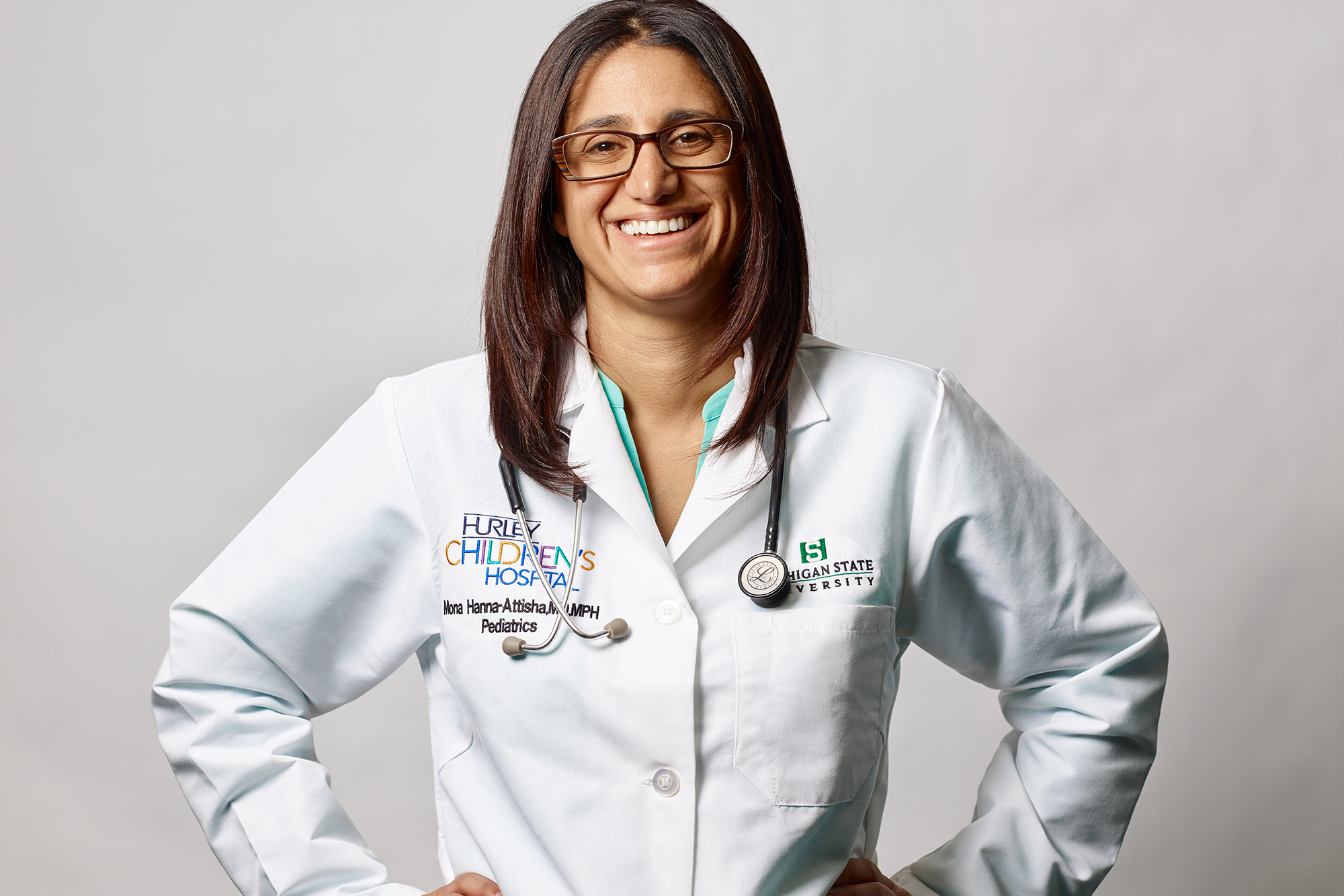 Dr. Mona, the hero of the Flint water crisis