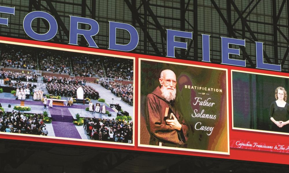 Solanus Casey beatified at Ford Field in Detroit