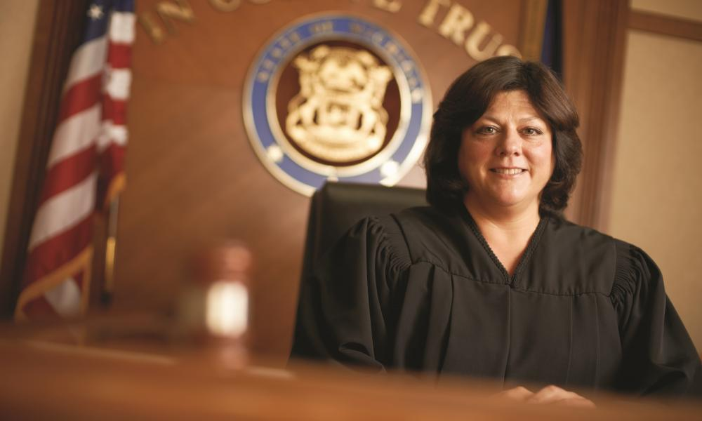 Helping children in the courtroom, Judge Lisa Sullivan