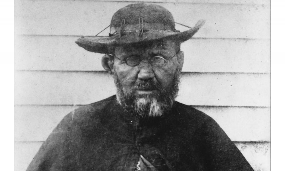"St. Damien of Molokai ""Leper priest"" in Hawaii"