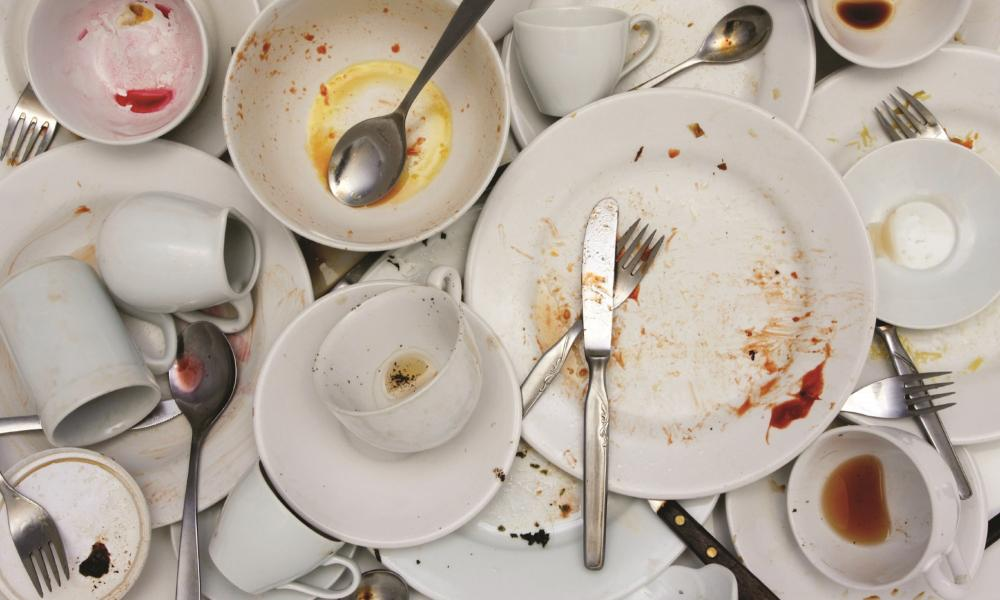 I am sick of cleaning up my co-worker's dirty dishes – I am not the office maid