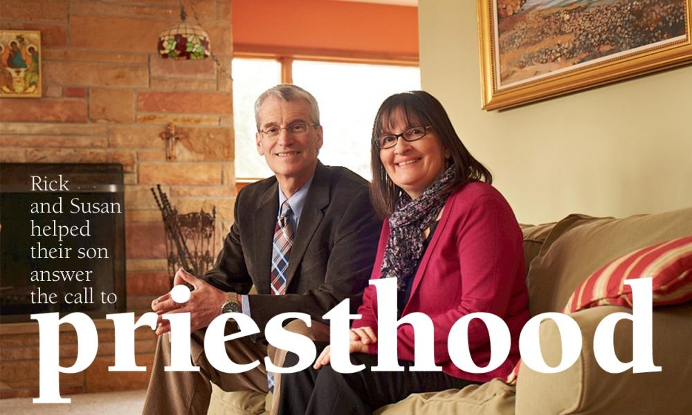 Rick and Susan helped their son answer the call to priesthood