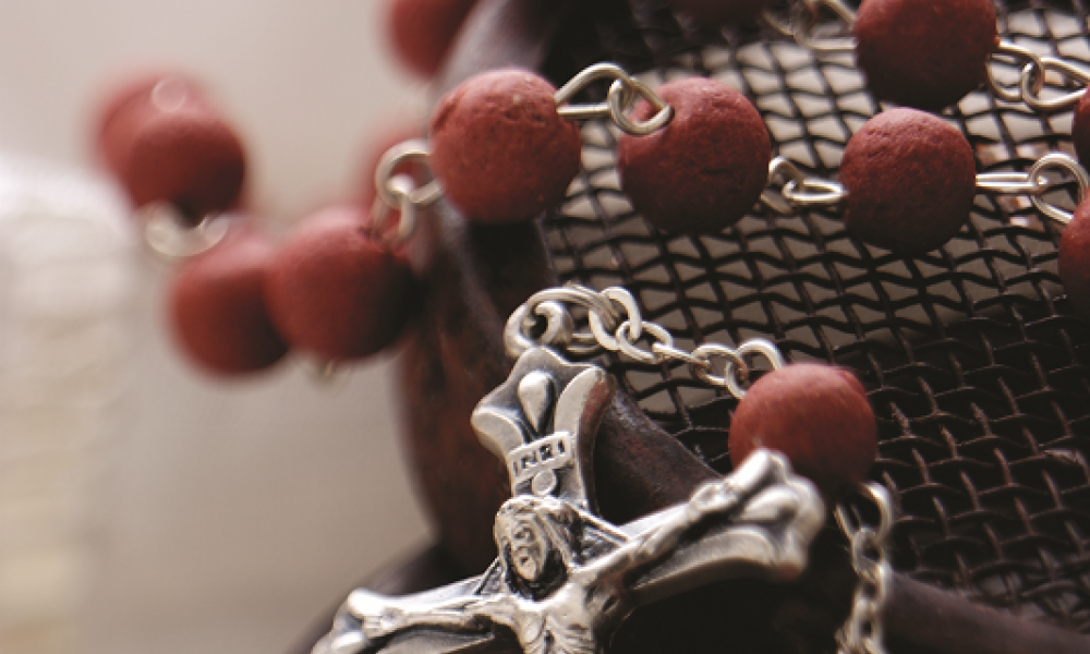 A Rosary from roses