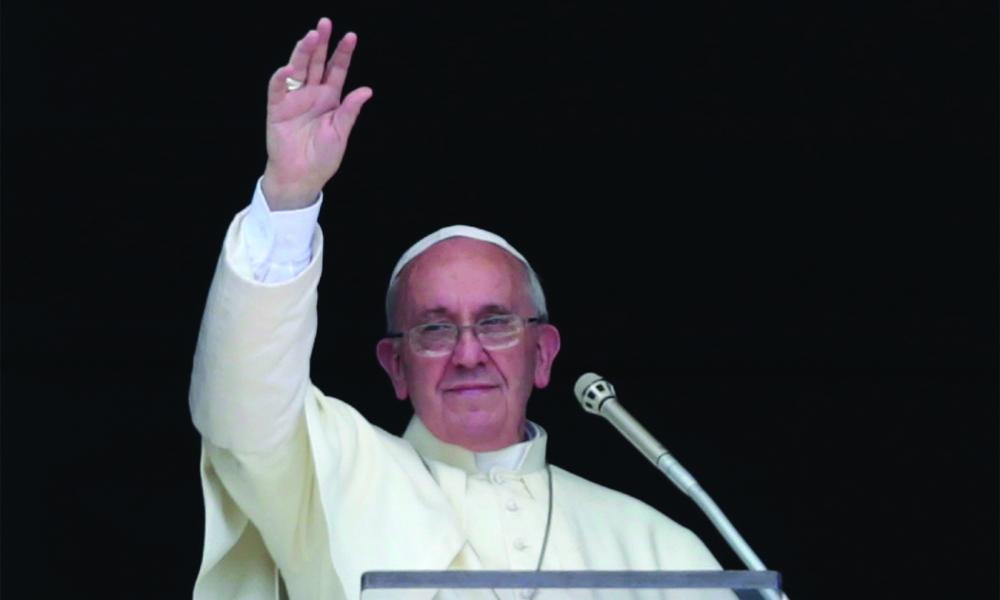 Pope Francis calls for end to Syria's conflict