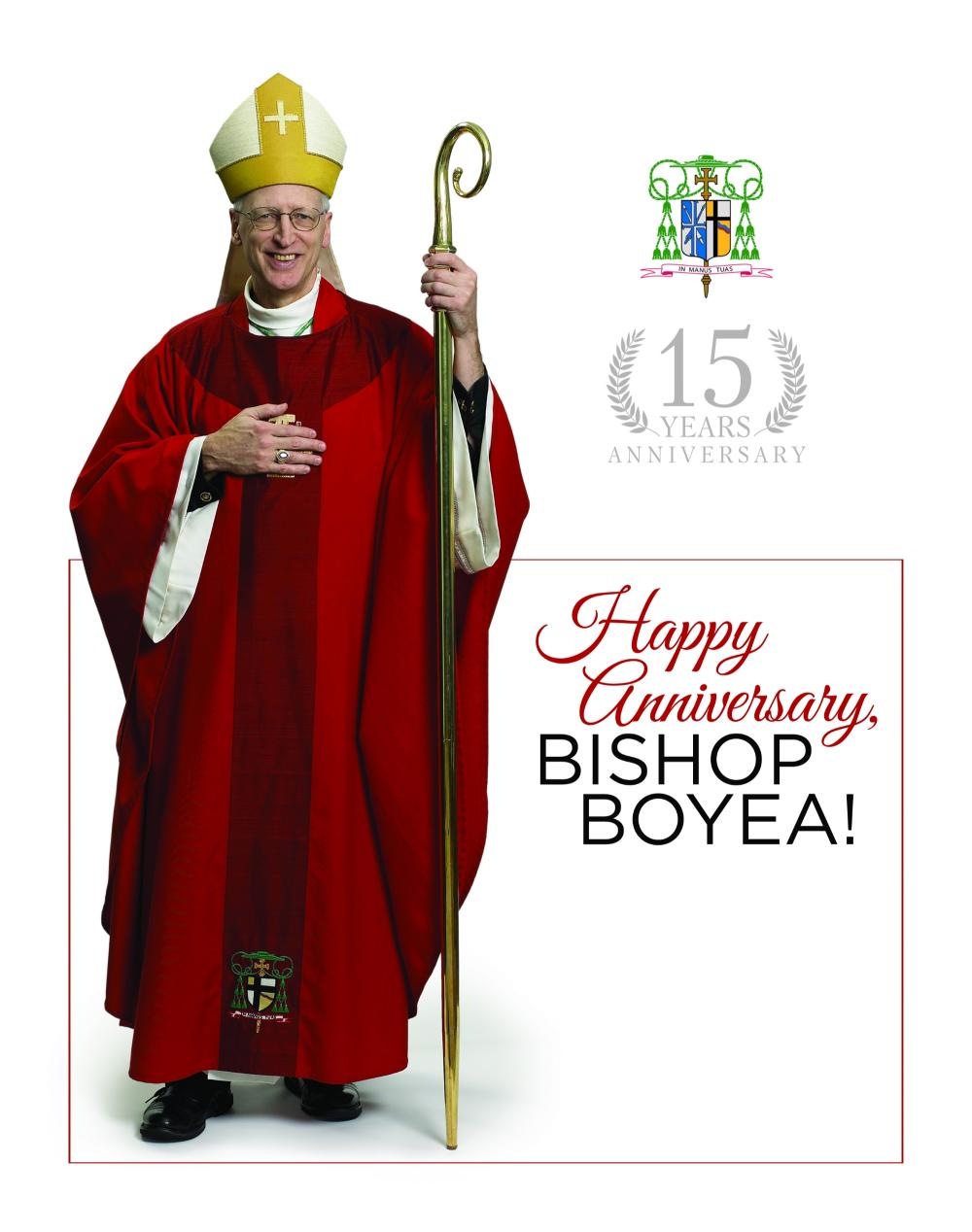 Happy Anniversary Bishop Boyea!