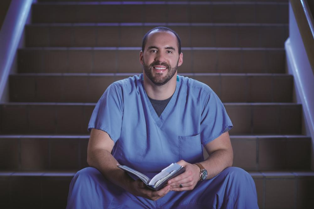 From 'faith, family and football' to med student