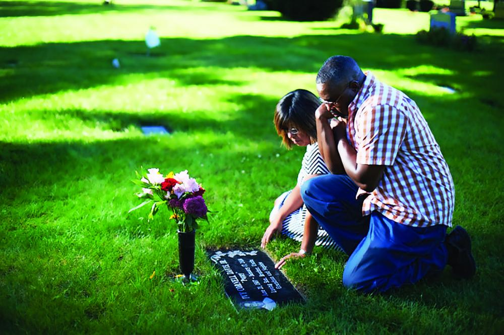 When their son died suddenly, Ivy and Lisa called Catholic Cemeteries first