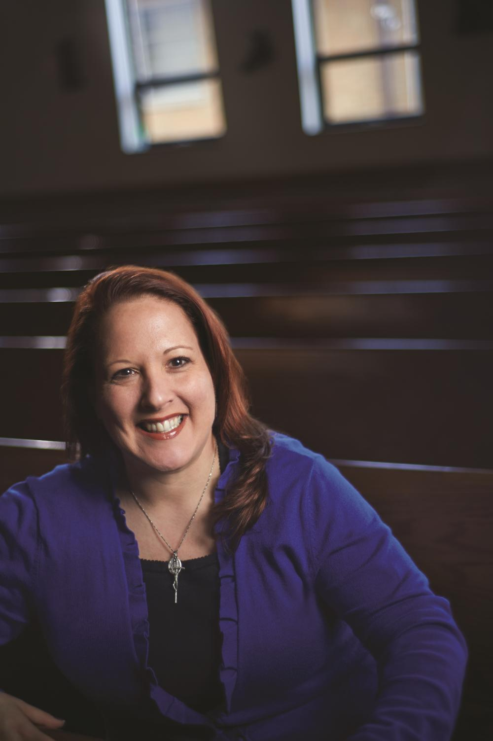 Profile of an Evangelist - Jen guides others to discipleship