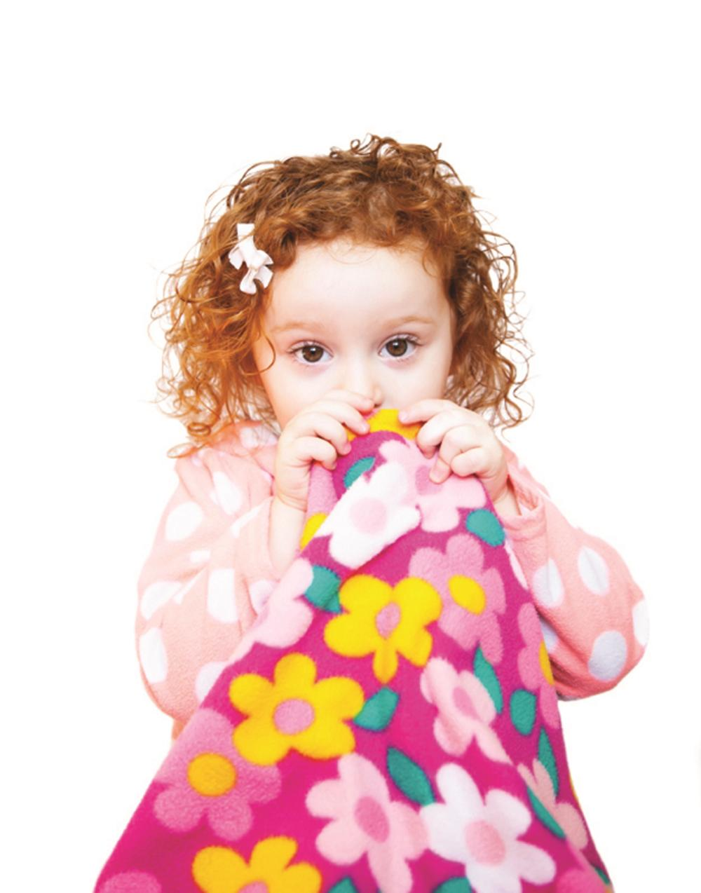 Does my 4-year-old have to give up her security blanket?