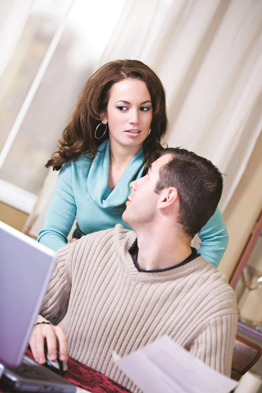 """I caught him 'chatting' online to another woman"""