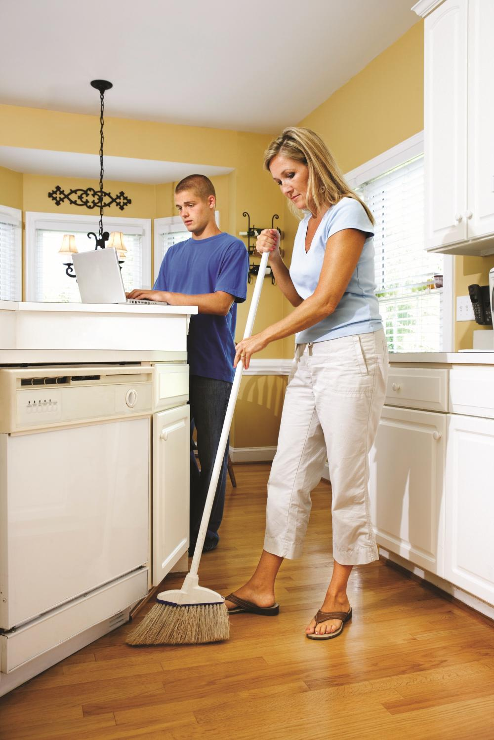 How do I make my teenager do chores?