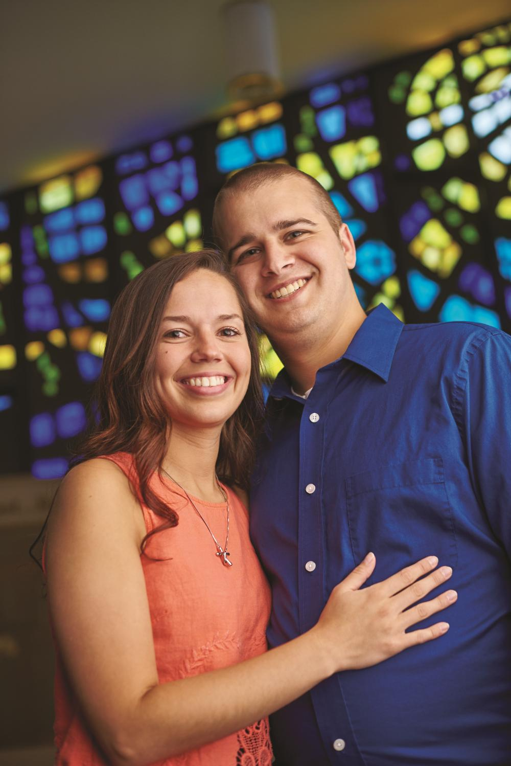 Jeff grew in his faith – and met his wife – at DYLC