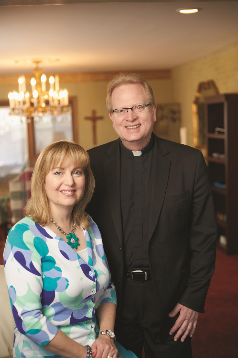 Parenting tips from a priest and his wife - Father Steve and Cindy Anderson