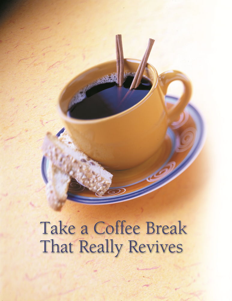 Reviving through a coffee break