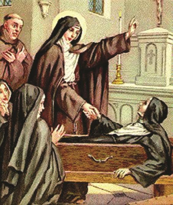 St. Colette helped reform the Poor Clares