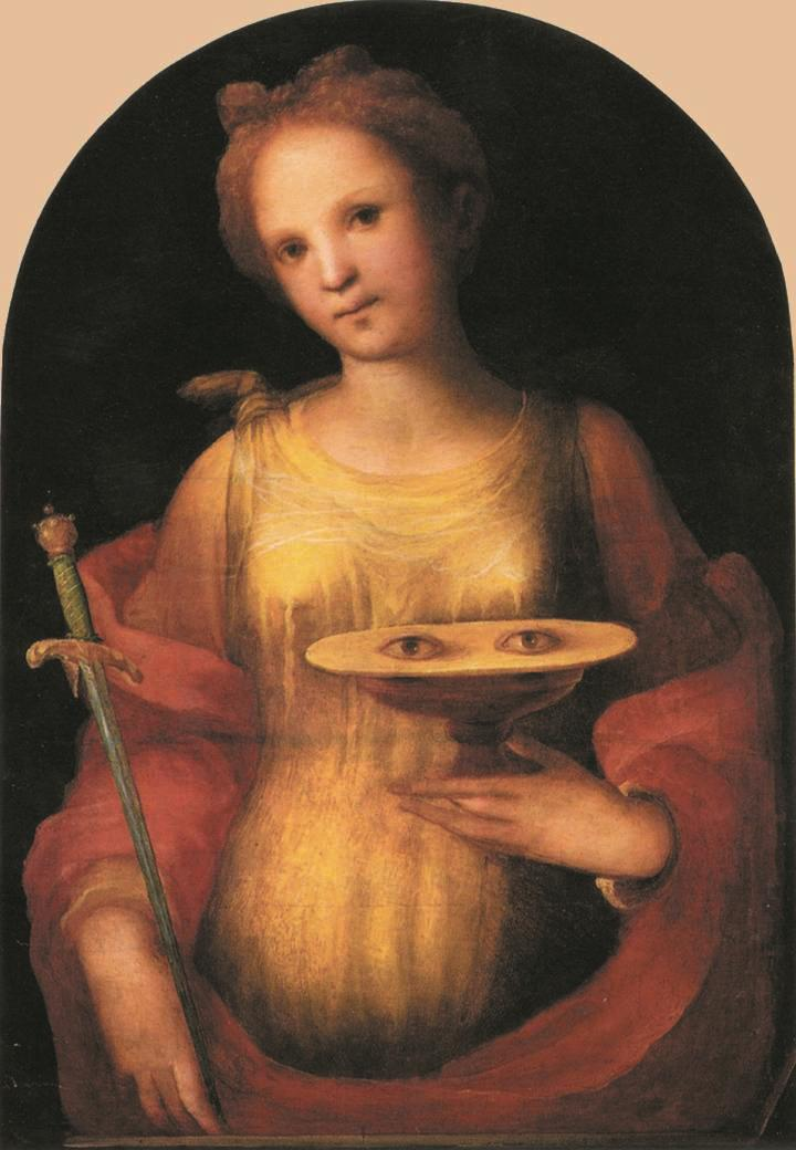 They even tried to take out her eyes: St. Lucy's story