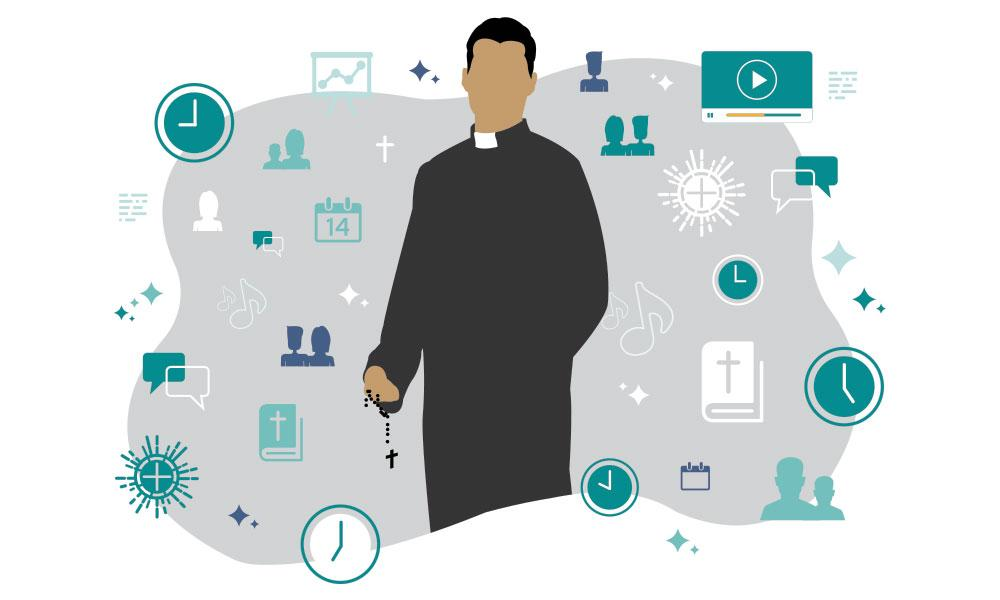 What does a priest do all day?