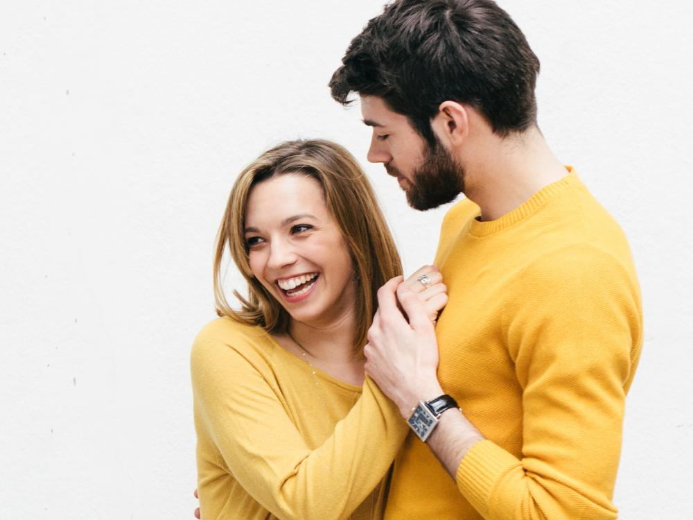 Couple Hugging Image