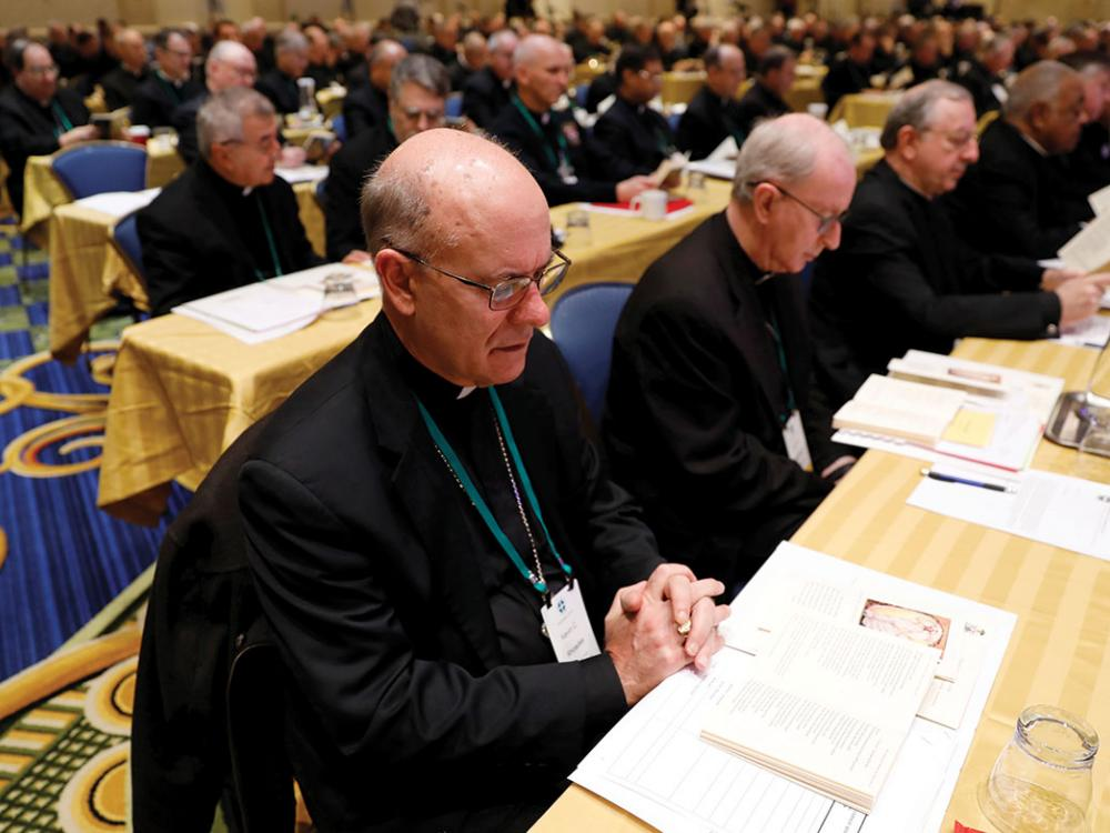 FALL MEETING OF U.S. BISHOPS